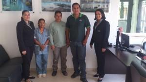 Gissele (Recepcionista) Ana Claudia (Auxiliar de Limpeza) Vicente (Auxiliar da Manutenção) Ademir (Zelador) Regina (Gerente)